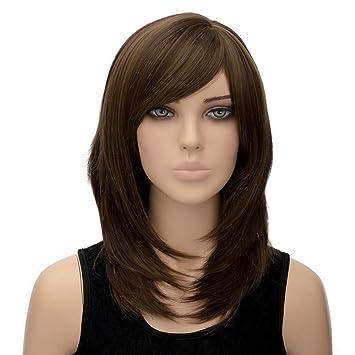 Amazon Wjsj Ombre Long Wigs For Women Ladies Blonde Brown