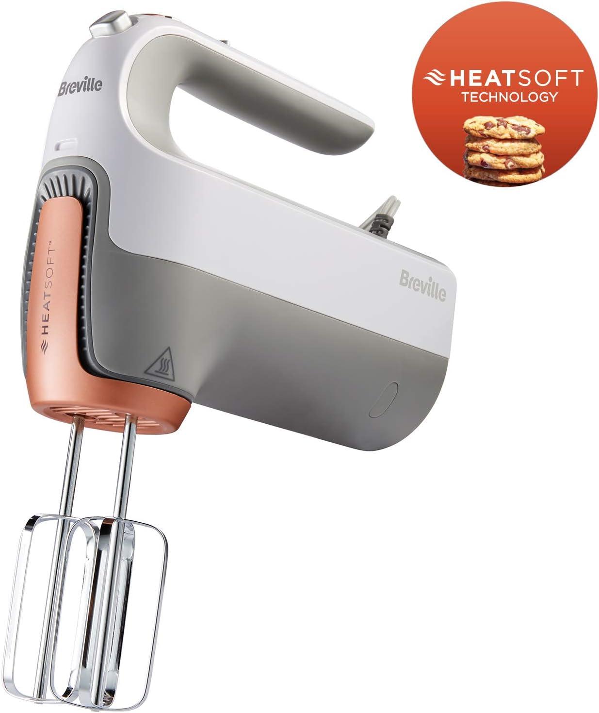 Breville HeatSoft VFM021X - Batidora manual eléctrica con varilla ...