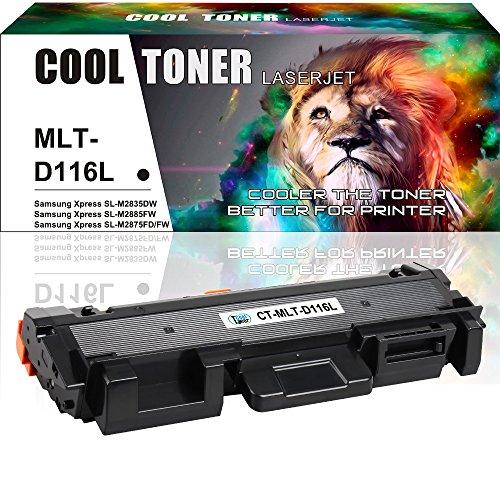 Unit Oem Laser Toner (Cool Toner [1 ] Cartridge Compatible for Samsung Xpress D116L MLT-D116L MLT-D116S  SL-M2825DW SL-M2835DW/XAA SL-M2885FW/XAA SL-M2875FD/FW CL-M2625D SL-M2835DW SL-M2885FW M2885FW M2835DW Imaging Unit)