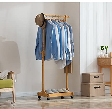 Amazon.com: Perchero de pie para abrigos, perchero creativo ...