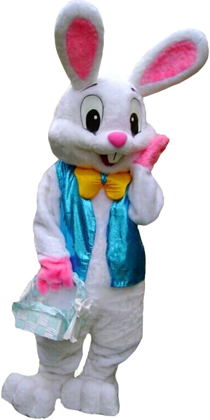 Easter Mascot Costume Cartoon Lovely Rabbit Animal Fancy Dress Adults 2019