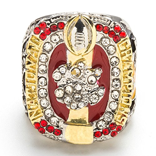 2016 Clemson Tigers MVP SATSON - National ChamPions Ring Size 11 by MVPRING