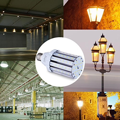 Warehouse Led Lighting Amazon Com: 25W Warm White LED Corn Light Bulb For Indoor Outdoor