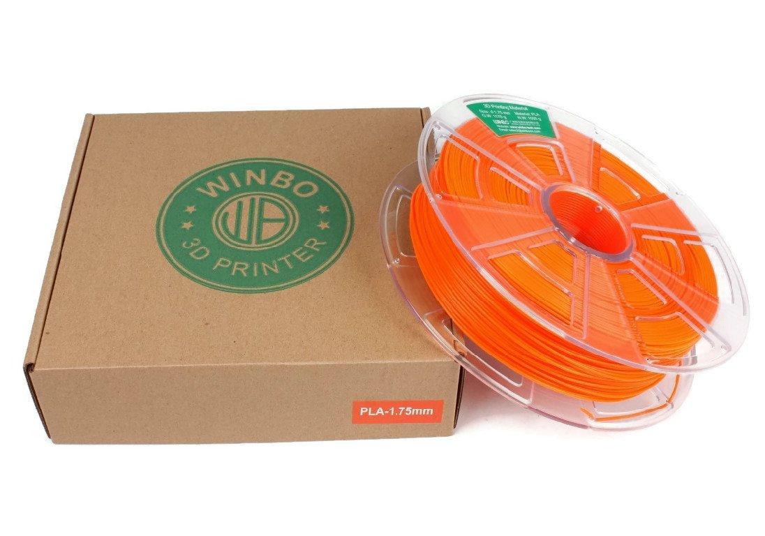 Filamento PLA 1000g 1,75mm para impresoras 3D (Amarillo) WINBO SMART TECH CO. LTD