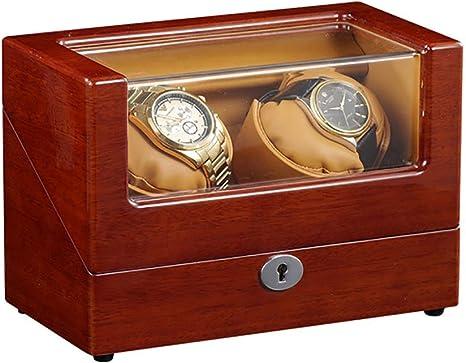 KYCD - Expositor automático para 2 Relojes, Caja con Movimiento y Motor Mabuchi, Reloj automático para Mujer y Hombre: Amazon.es: Hogar