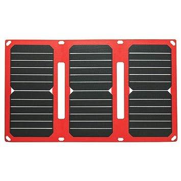 YEDENGPAO Banco De Energía Solar, Cargador Solar De Alta ...