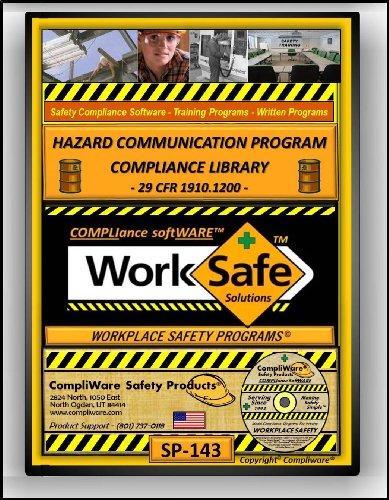 SP-143 - HAZARD COMMUNICATION COMPLIANCE PROGRAM LIBRARY - Globally Harmonized System - GHS – OSHA - 29 CFR 1910.1200 - UPC 639737375305 - UPC - 639737375305