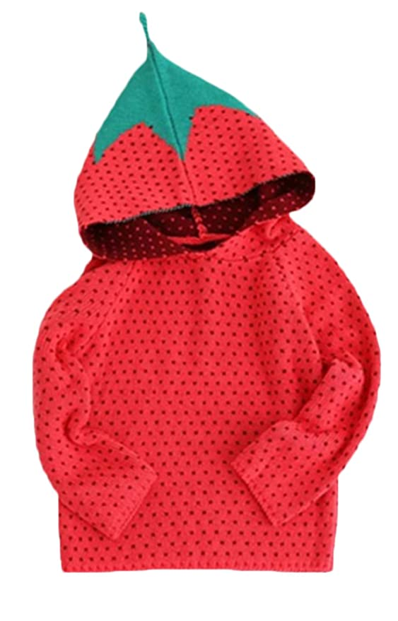 Amazon.com: EGELEXY Baby Girls Sweater Autumn Winter Cute Strawberry Sweaters Kids Knitwear: Clothing