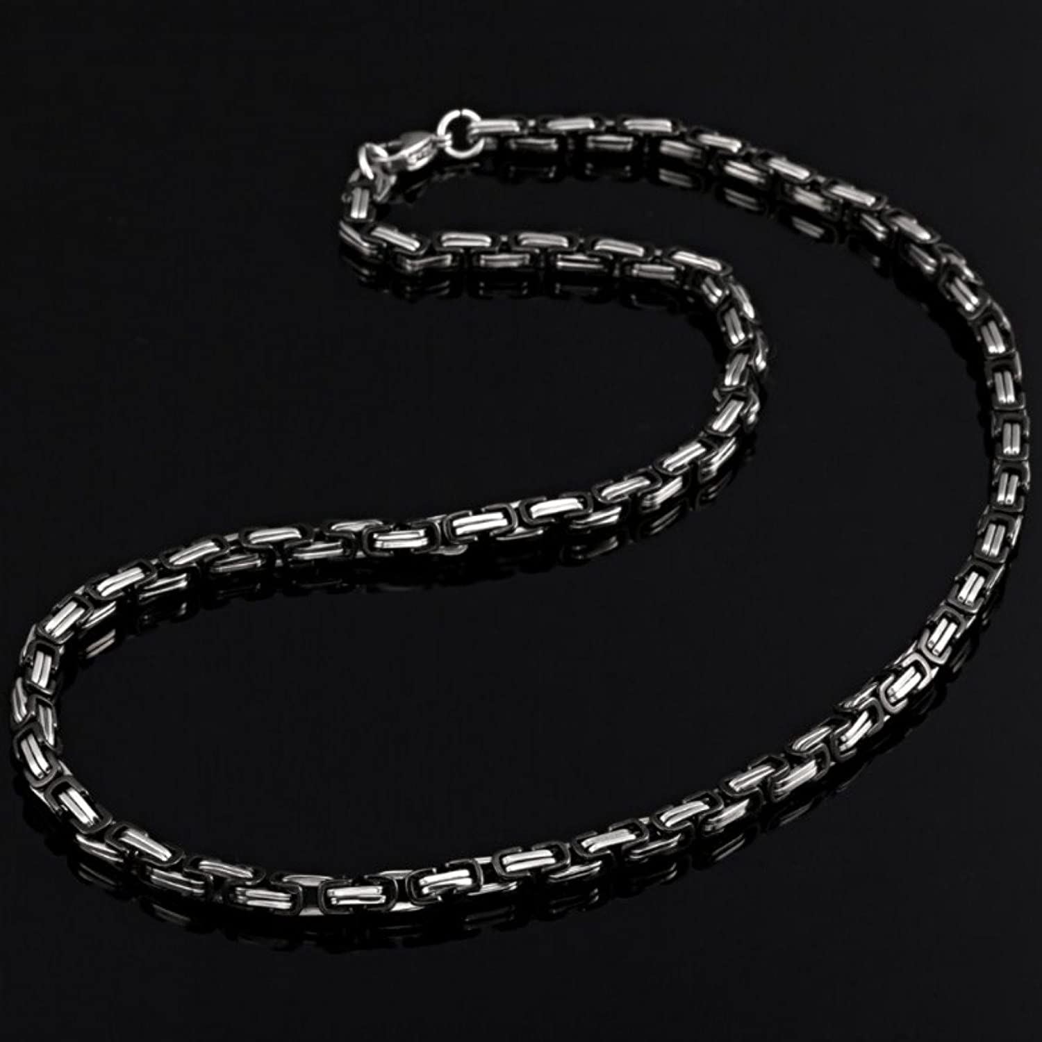 cable necklace mens signature sterling chains silver chain jewelry pin and