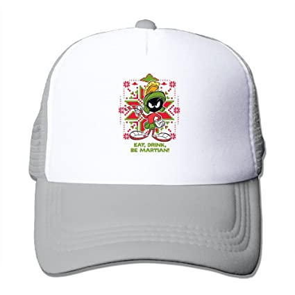 Amazon.com  Avis N Marvin The Martian Mesh Hat Trucker Snapback Hat ... 5fdaefadda