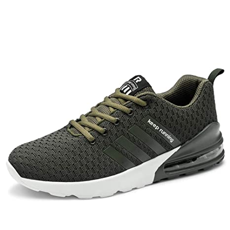 newest collection b9436 eb652 Men s Breathable Tennis Shoes Lightweight Cross Trainer Exercise Sports Gym  Sneakers,A,US7.