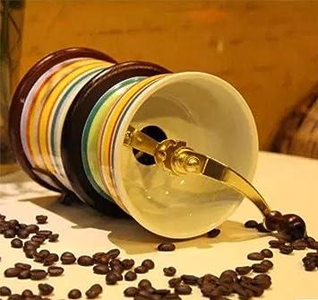 KUKI Máquina manual del polvo del café molido a mano de la amoladora de café de la amoladora de la mano-crann: Amazon.es: Deportes y aire libre
