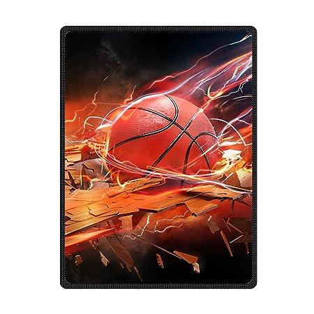 Custom impresionante baloncesto cama/sofá manta Supersoft manta de ...