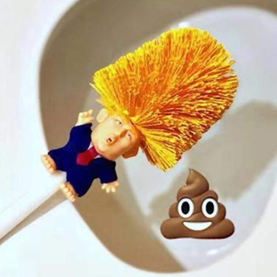 Tiowea Cartoon Toilet Brush Holders Home Bathroom Cleaning Tools Toilet Brushes & Holders