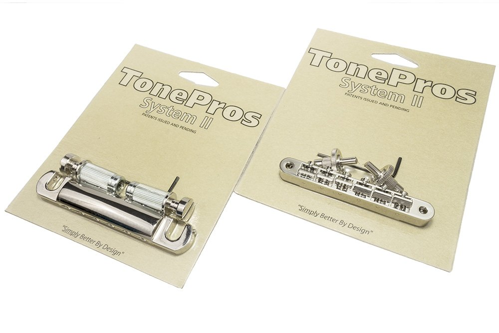 TonePros NVR2 Locking ABR1 Nashville Retrofit and T1ZSA Aluminum