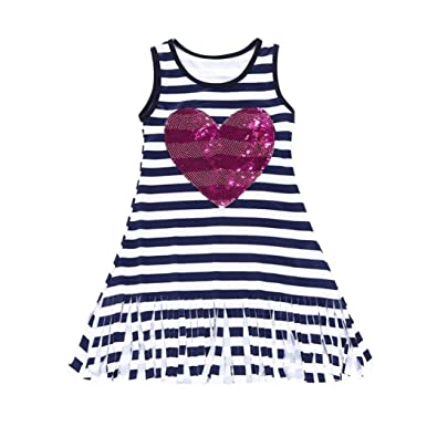 Amazon Com Goodtrade8 Newborn Toddler Baby Girl Sundress Sleeveless Casual Dress Summer Infant Kids Shoes