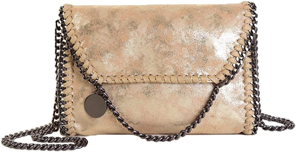 Women Chain Bag PU Leather...
