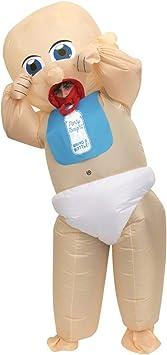 Morph Divertido Disfraz Inflable Bebé Adultos - Una talla le queda a ...