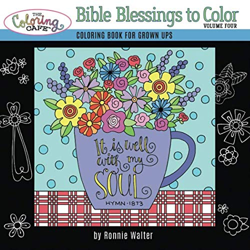 Pdf Crafts The Coloring Cafe-Volume Four-Bible Blessings to Color (Volume 4)