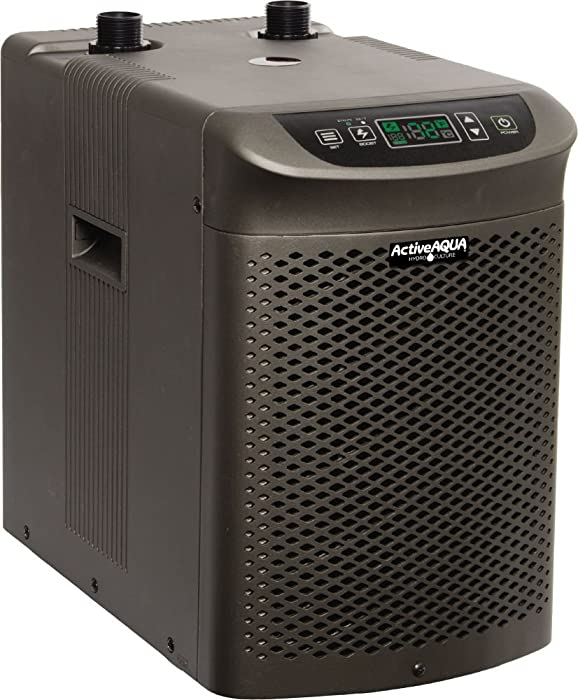 Active Aqua AACH10HP Water Chiller Cooling System, 1/10 HP, Rated per hour: 1,020BTU, User-Friendly