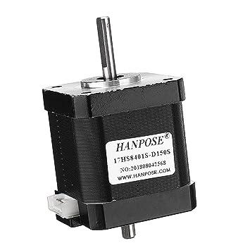 HS8401S-D150S Motor paso a paso de 48 mm Nema 17 42 Motor 42BYGH ...