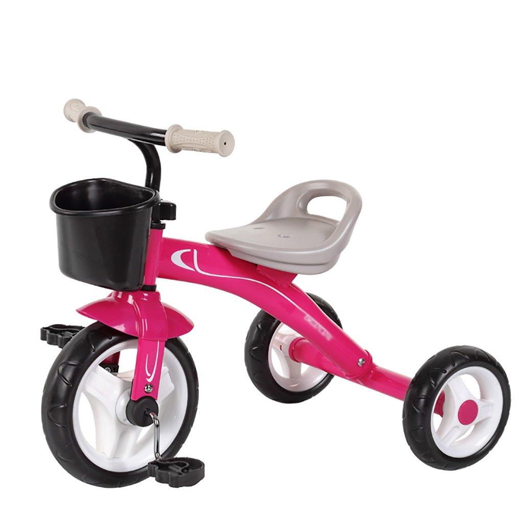 子供用トライク、三輪車の乗り物バイク、赤ちゃんの滑り自転車、おもちゃの自転車、自転車の子供、フットペダルの3つの車輪 (色 : B) B07DVJP5L7 B B