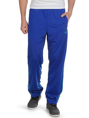adidas Herren Hose Firebird Trackpant, true blue/turquoise, XXL, Z34193