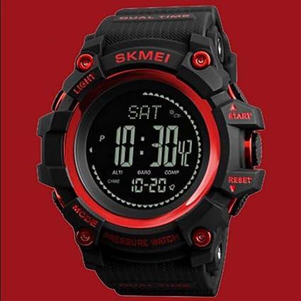 TOOLS Reloj Deportivo para Hombre Al Aire Libre De Múltiples Funciones Reloj Electrónico Multifunción Impermeable para