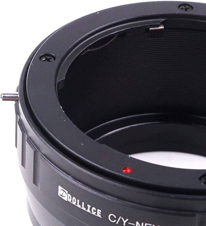 Dollice Lens Mount Adapter Suit for Contax CY Lens to Sony E Mount NEX Camera