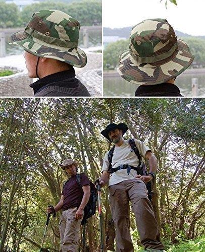 de Hombre Redondo Gorra diseño Camuflaje LHGS para qxwSFngf5