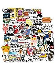 ملصقات لزجاجة المياه بطبعة المسلسل التليفزيوني فريندز، ملصقات من الفينيل المقاومة للماء لتطريز الواح التزلج، الغيتار، حقيبة السفر، ملصقات باب، لاب توب، الامتعة، سيارة، دراجة - هدية مثيرة للاهتمام