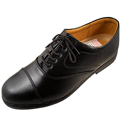 67cd03c10d5 Action Shoes Synergy Men s Formal Black Synthetic Leather Shoes (UK India  ...