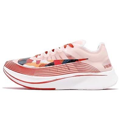 super popular 6dc7c 5c46d Amazon.com   Nike Zoom Fly SP Camouflage Mens Running Shoes Team Orange  Black Sail, Size 12   Road Running