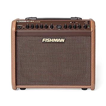 Fishman Loudbox la mini carga de 60 vatios con pilas acústica Combo Amp marrón
