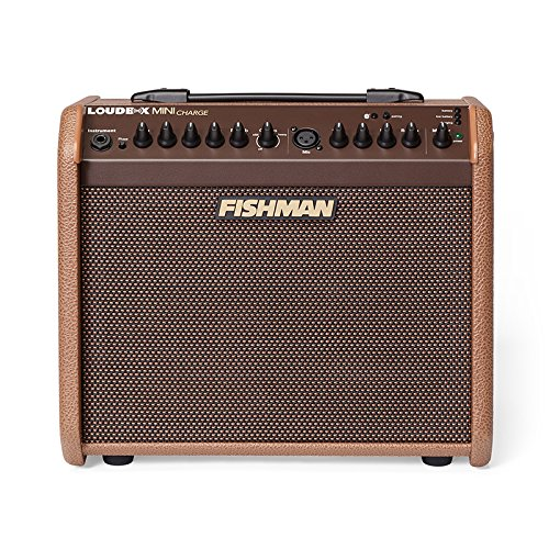 Fishman Loudbox Mini Charge 60-watt Battery Powered Acoustic Combo Amp (Combo Electric Amps Acoustic)