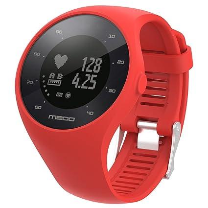 MISSWongg_Correa de reloj - Silicona - Compatible con el Reloj Polar M200 - MWBD002