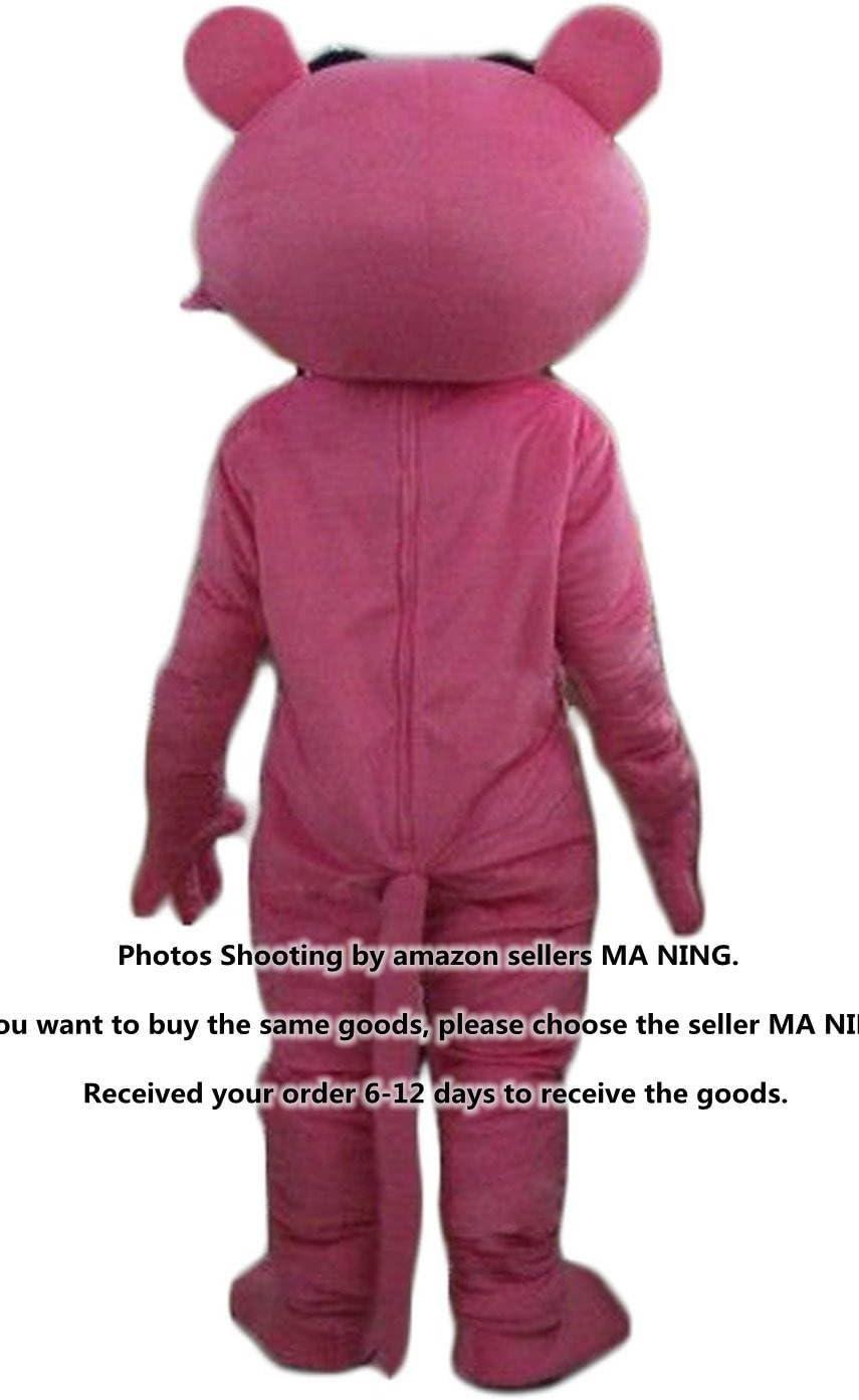 MYOS Nanchang New Pantera Rosa Mascota Trajes Disfraces Traje ...