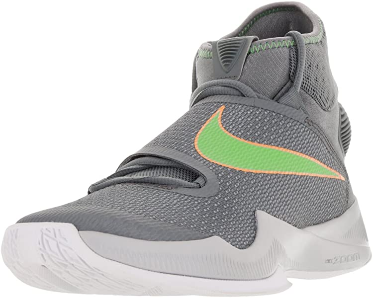 d2ec5846c4f09 Men's Zoom Hyperrev 2016 Cool Grey/Action Green/WLF Gry Basketball Shoe 7.5  Men US
