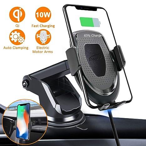 Amazon.com: Shonmau - Cargador de coche inalámbrico para ...