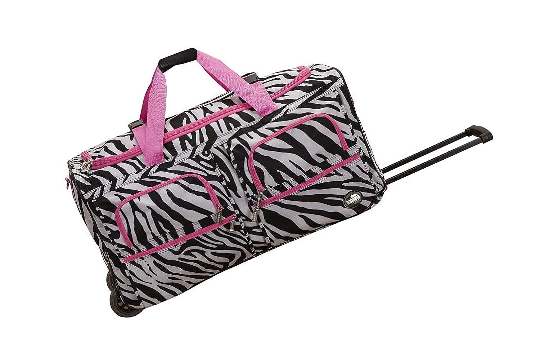 Rockland Luggage 30 Inch Rolling Duffle/Bag Medium Black
