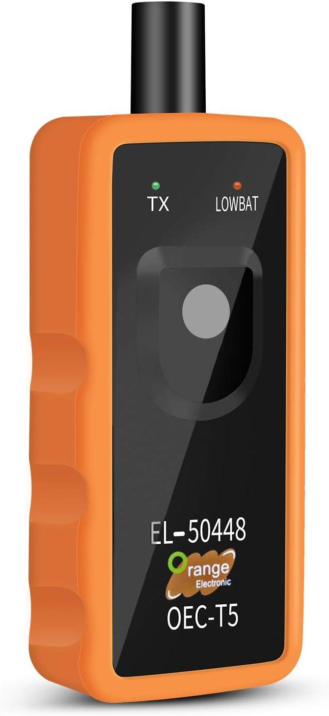 ELENXS Universal-Auto Digital-/Öldruckanzeige rote LED-Anzeige 0~8 bar /Öldruck Meter IP-OPM-01