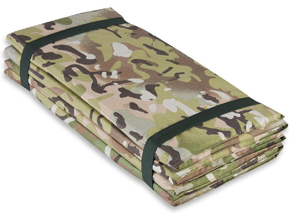 Highlander Outdoor Products Army Military Camping Z Sleeping Mat Folding Fold Up Mattress Foam Colour HMTC