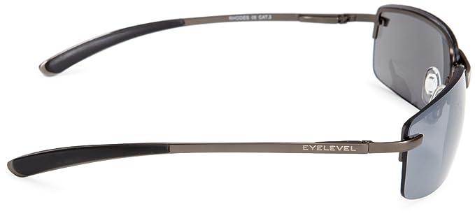 ae9c844fd2 Eyelevel Rhodes 2 Rimless Unisex Adult Sunglasses Grey One Size  Amazon.co. uk  Clothing