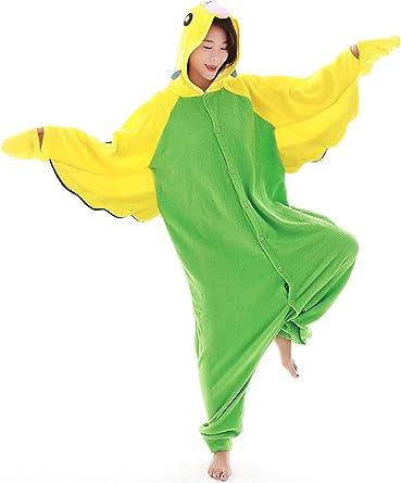 Pijama de Loro para Adultos, Pijama para Cosplay, Disfraz de ...