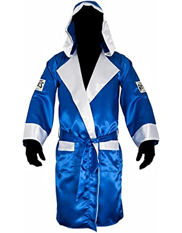 3c320c4ce8 Cleto Reyes Satin Boxing Robe with Hood - Black Gold