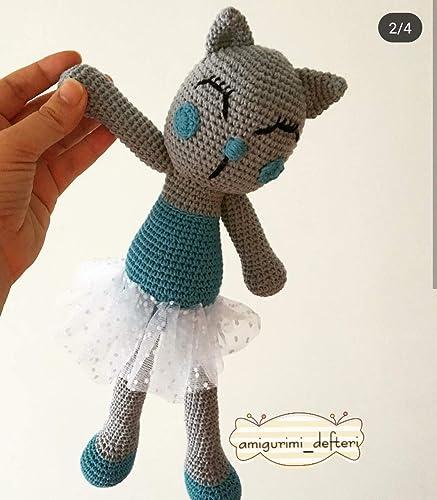 Crochet Ballerina Bear Amigurumi Ballet Doll por MiBaulDeAmis ...   500x437