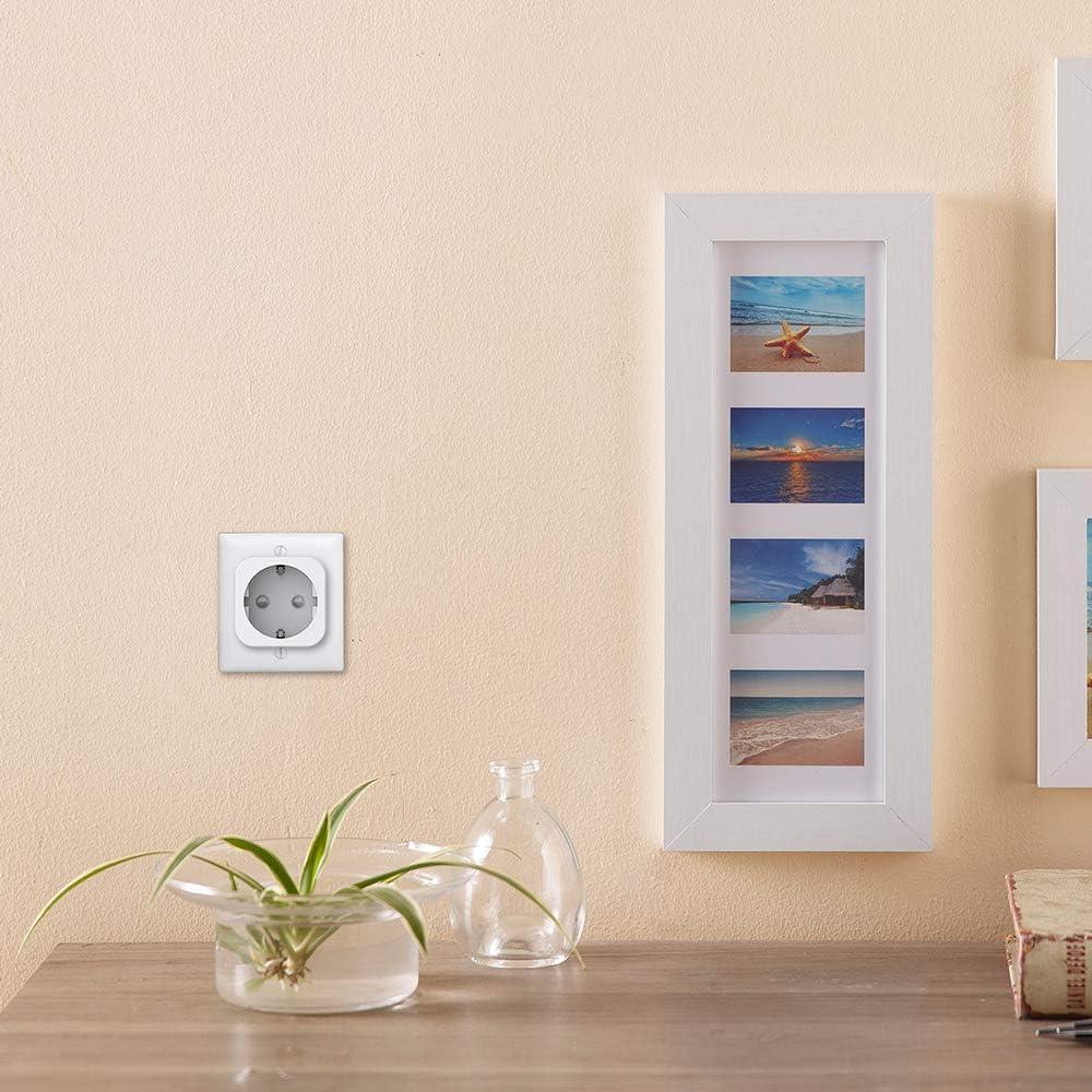 IFTTT No se requiere concentrador Control remoto Smart Plug Smart Plug Socket Mini toma de corriente para interiores funciona con Alexa Google home