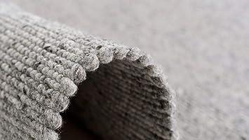 Pergamon Natur Teppich Wolle Beidseitig Island Grau In 8 Grossen