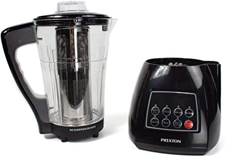 PRIXTON Thermogrind - Robot Cocina / Robot de Cocina Multifuncion: Calienta, Hierve, Pica, Cuece, Bate con Jarra de ...