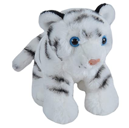 b9c8946743c Image Unavailable. Image not available for. Color  Wild Republic White  Tiger Plush